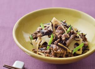 牛肉とヒジキの煮物