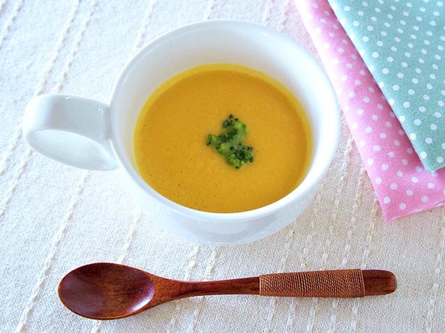 野菜たっぷりかぼちゃのスープ