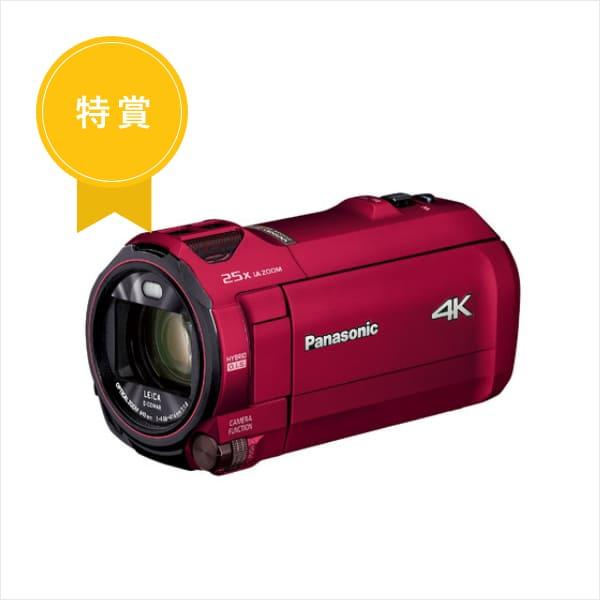 パナソニック 4K ビデオカメラ VX992M